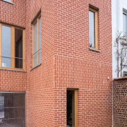 adn architectures . Single-family house . Brussels afasia (6)