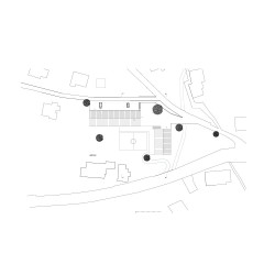 Bernardo Bader . School and hall for a village. Laterns afasia (10)