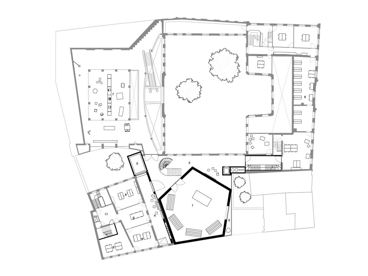 afasia Office . Design Museum extension . Gent (14)