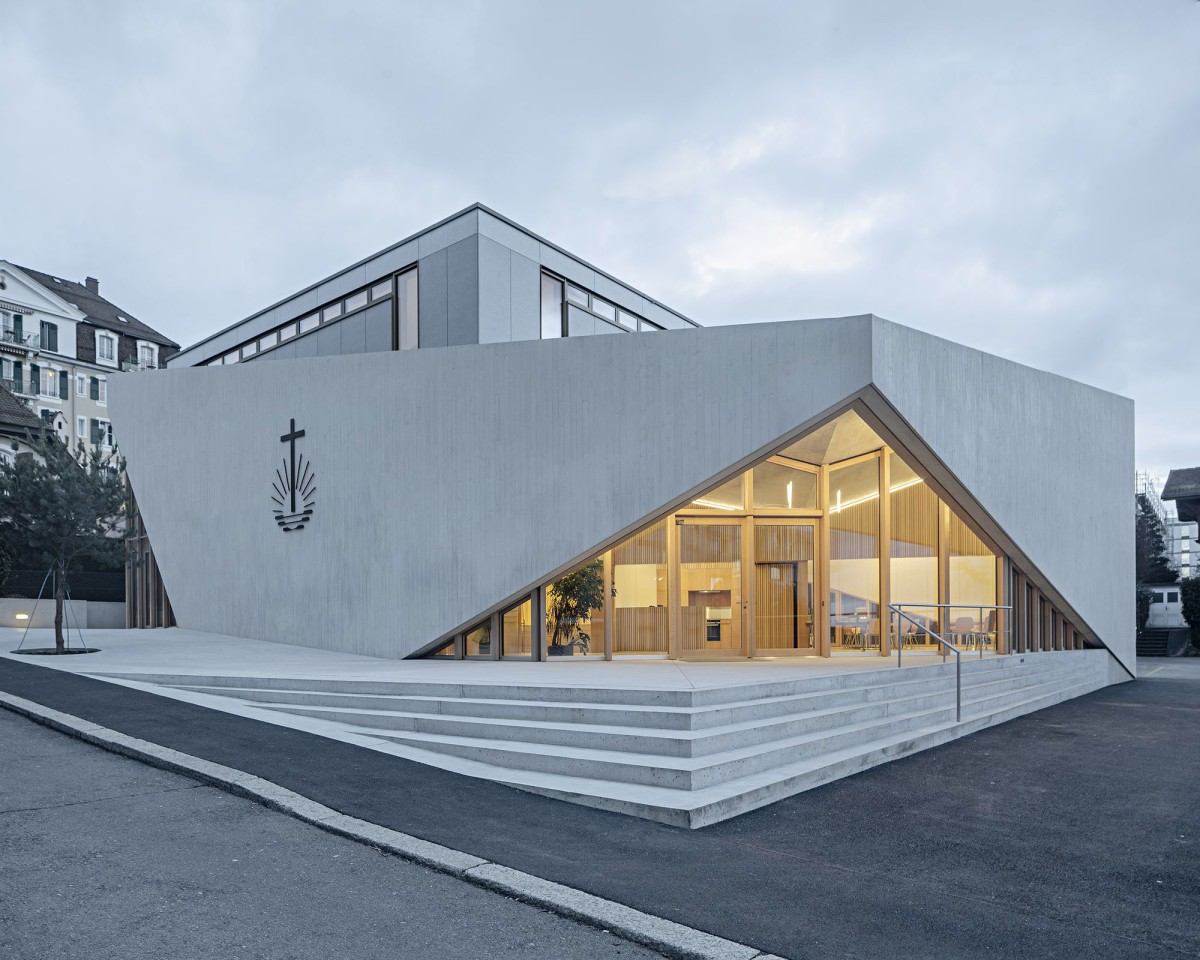 LOCALARCHITECTURE . NEW APOSTOLIC CHURCH . Lausanne afasia (1)