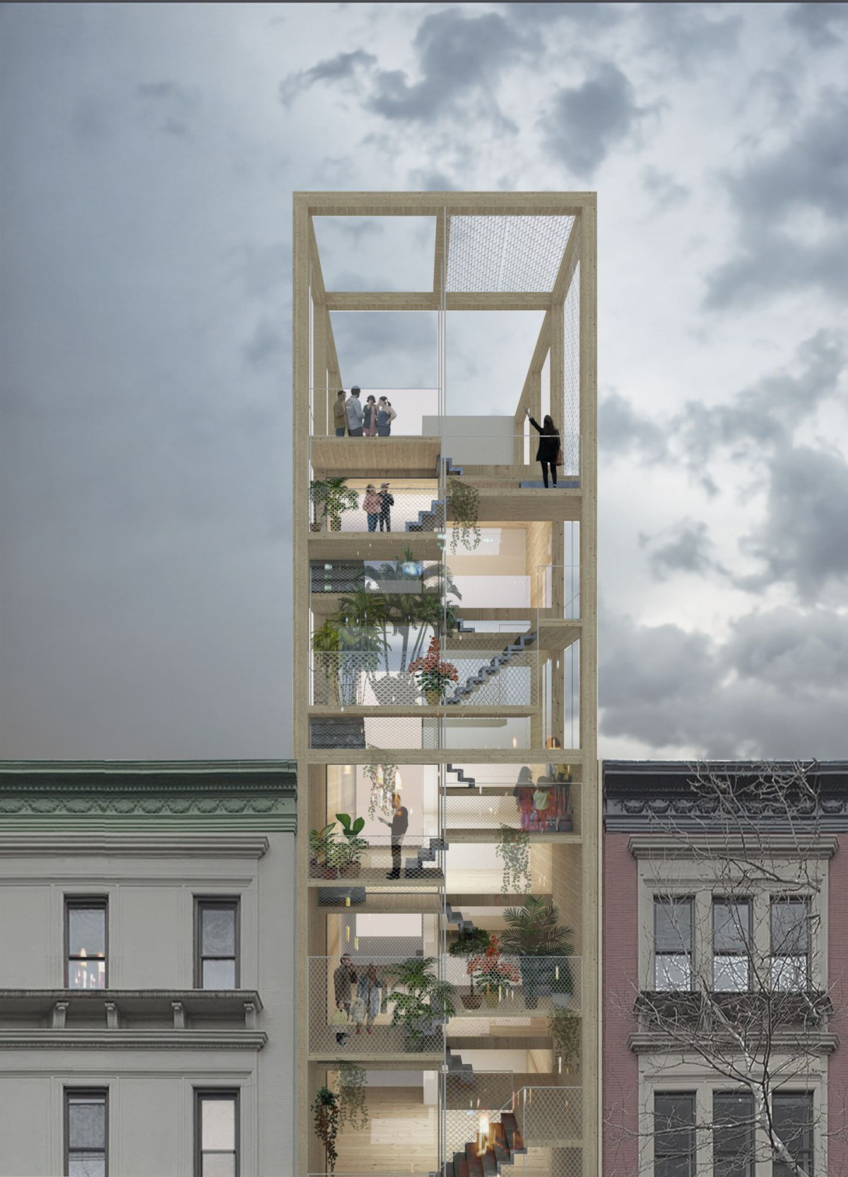 RICA . Social housing . New York afasia (1)