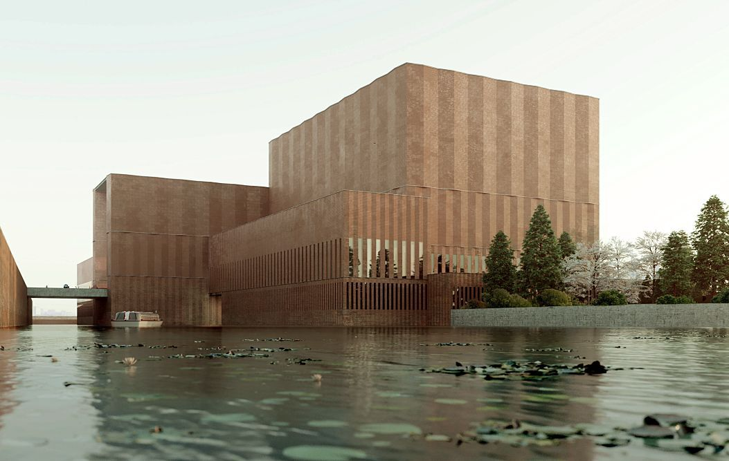 afasia David Chipperfield . Grand Canal Museum Complex . Hangzhou (1)