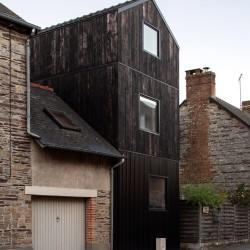 Clément Bacle . Single house extension . NANTES afasia (1)