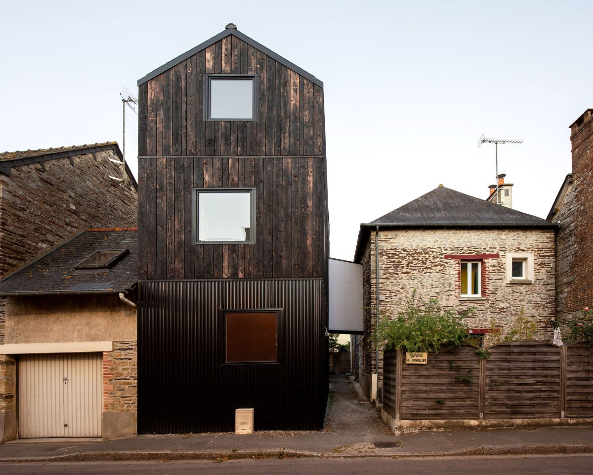 Clément Bacle . Single house extension . NANTES afasia (2)