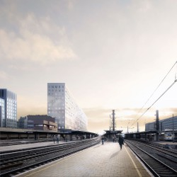 OMA . NMBS new headquarters . Brussels afasia (2)