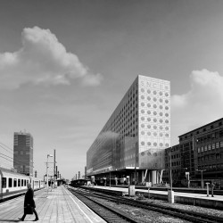 OMA . NMBS new headquarters . Brussels afasia (4)