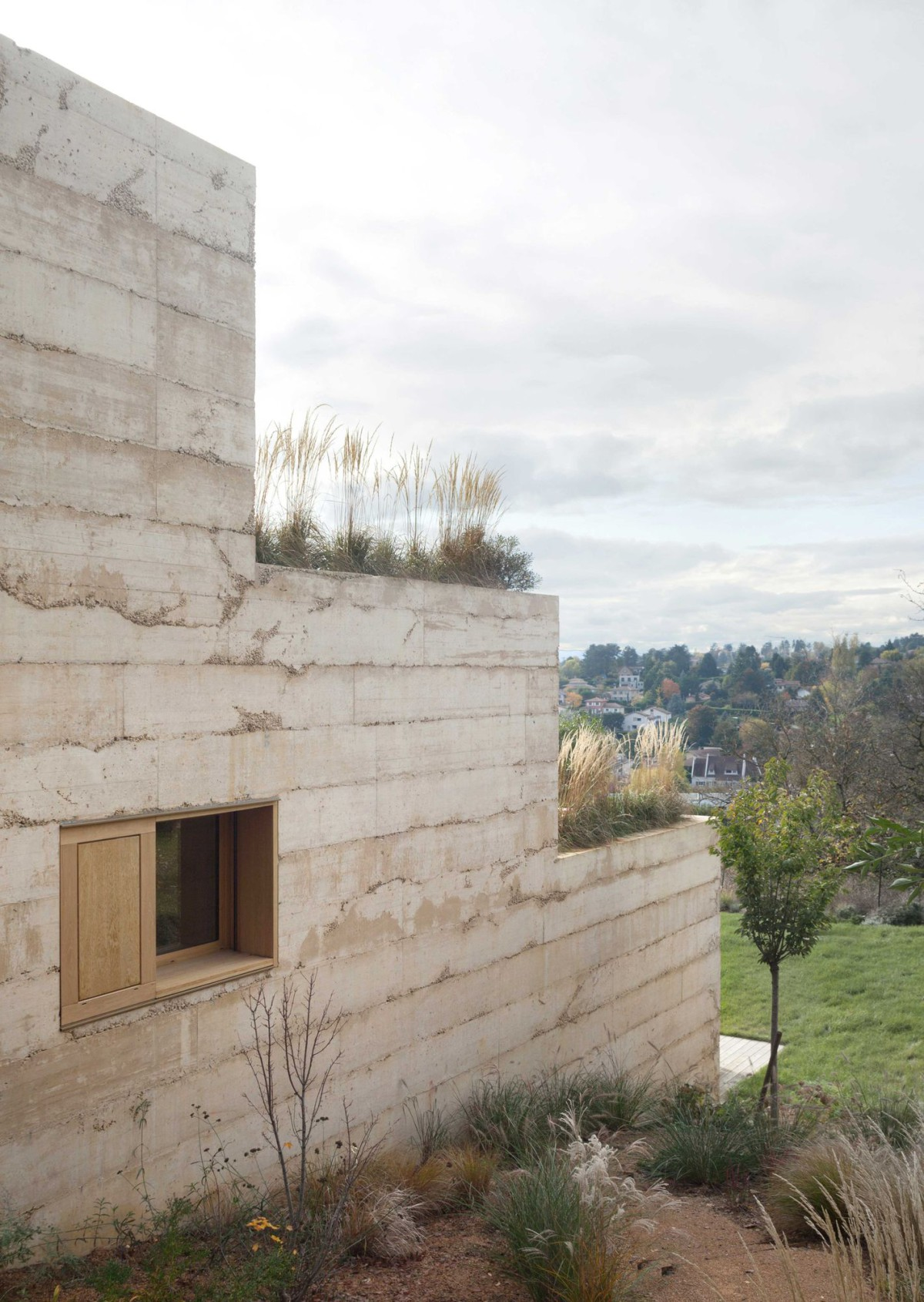 Tectoniques Architectes . P. House .  Saint-Cyr-au-Mont-d'Or  afasia (3)