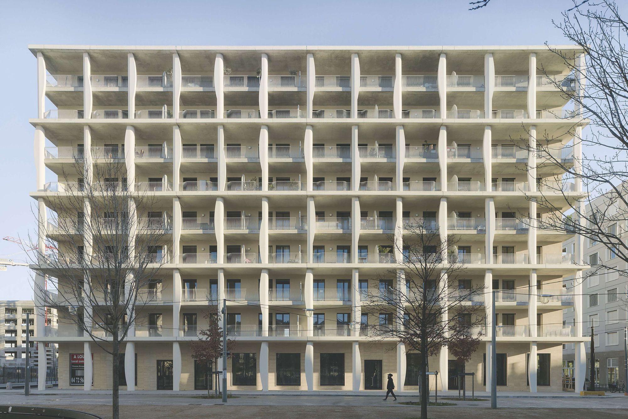 afasia Diener & Diener . Joud Vergély Beaudoin . Confluence. Block B2. Lyon  (1)