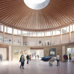 Feilden Fowles . National Railway Museum's new Central Hall . York afasia + (3)