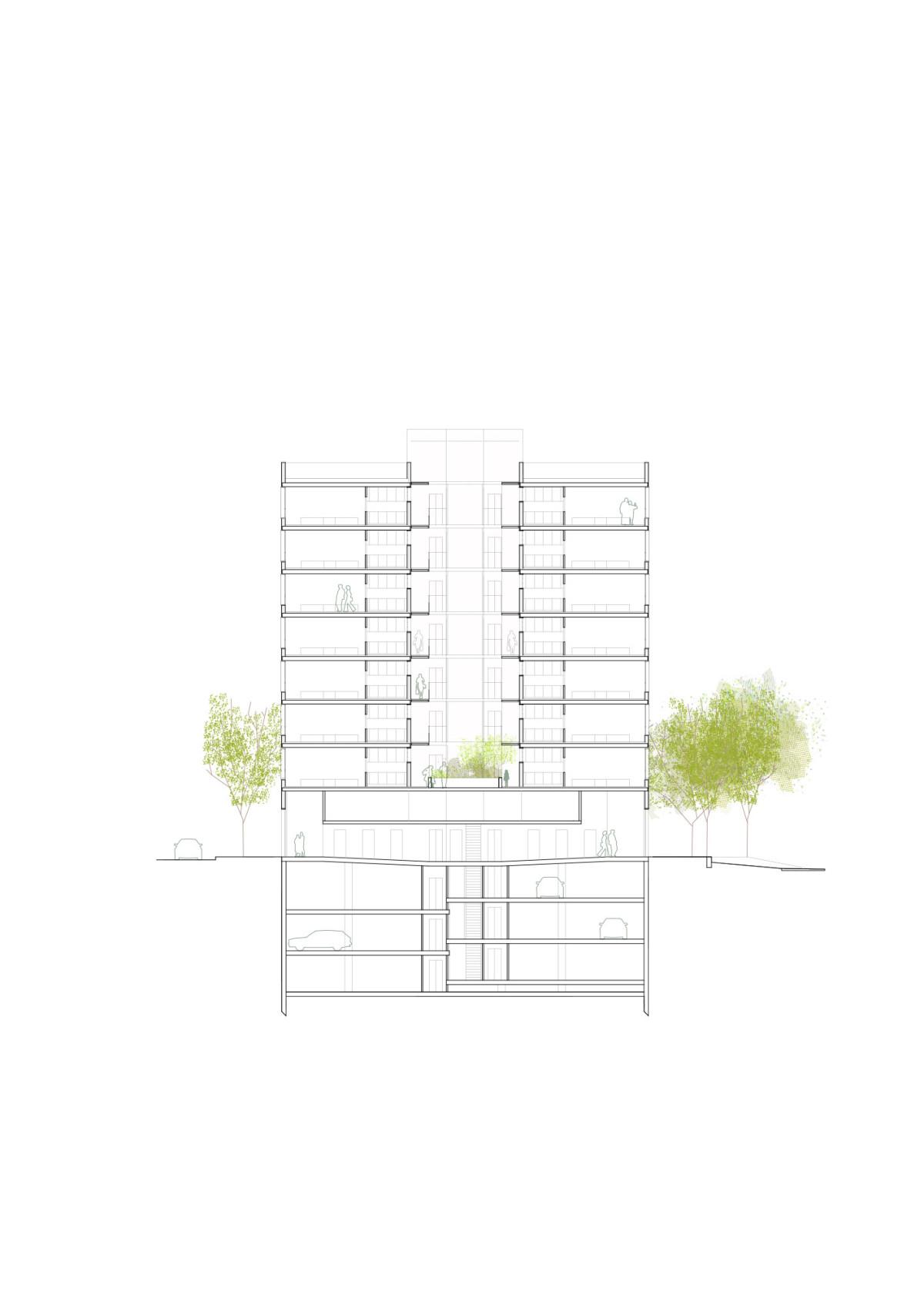 Herreros . MIM-A . Mixed Housing . Sant Boi de Llobregat afasia + (6)