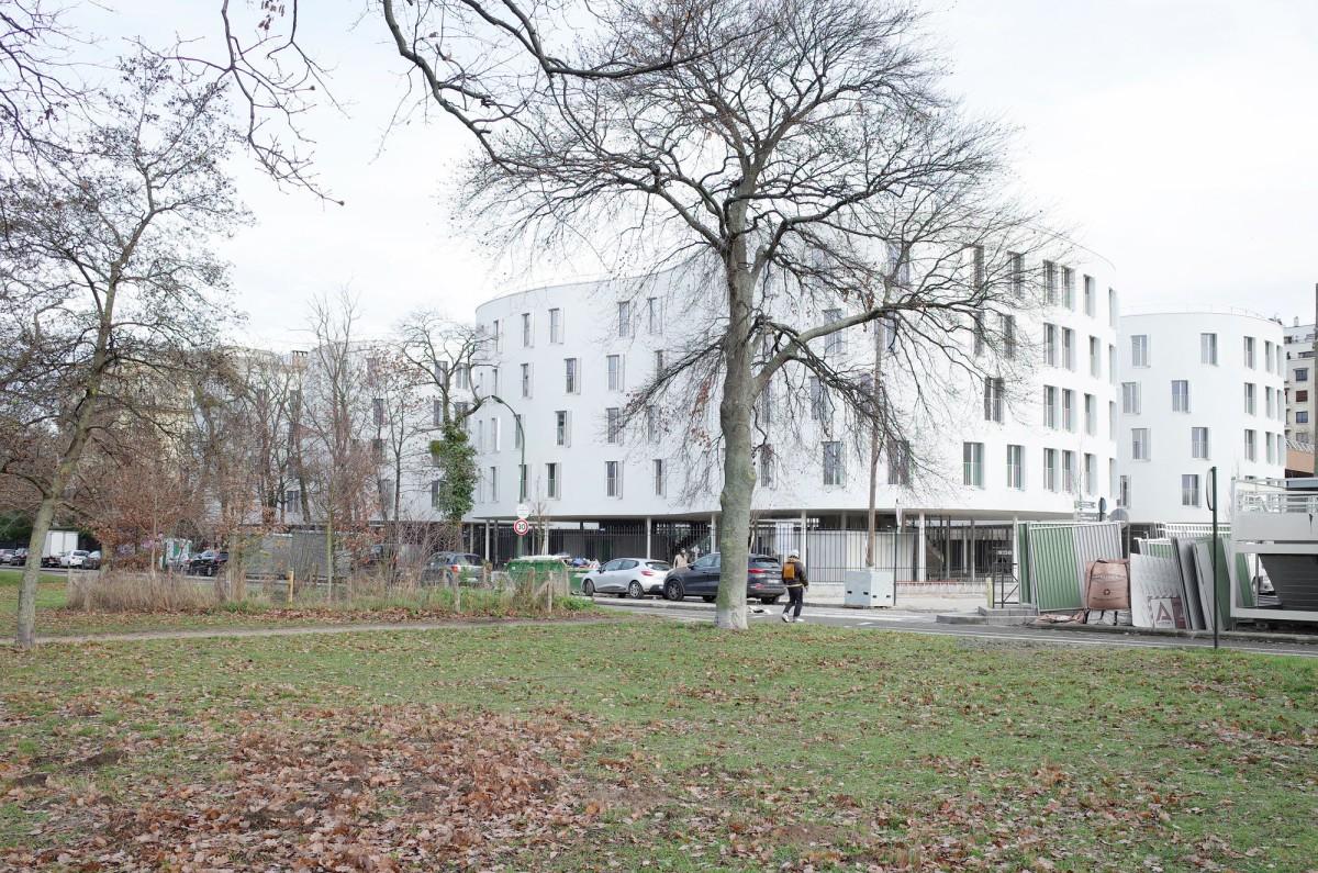 SANAA . Apartments on Ave. Maréchal Fayolle . Paris afasia (1)