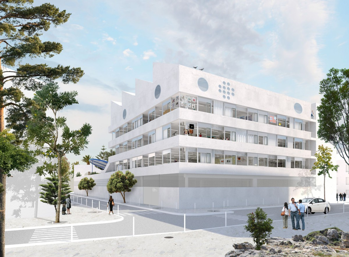 NP2F . CONSTRUCTION OF A HIGH SCHOOL . Marseille afasia (1)
