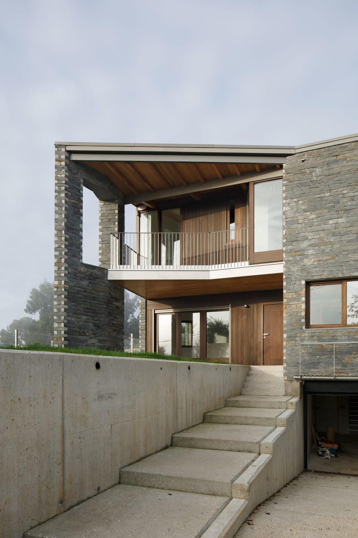 Arrokabe Arquitectos . House in Camiño Real . Santiago de Compostela afasia (1)