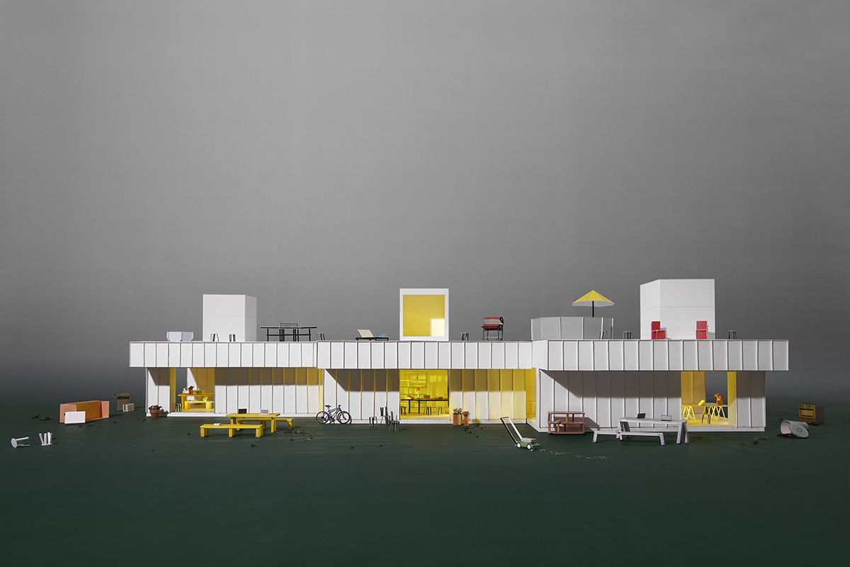 afasia MOS . No. 4  Studio with Flat Roof  (1)