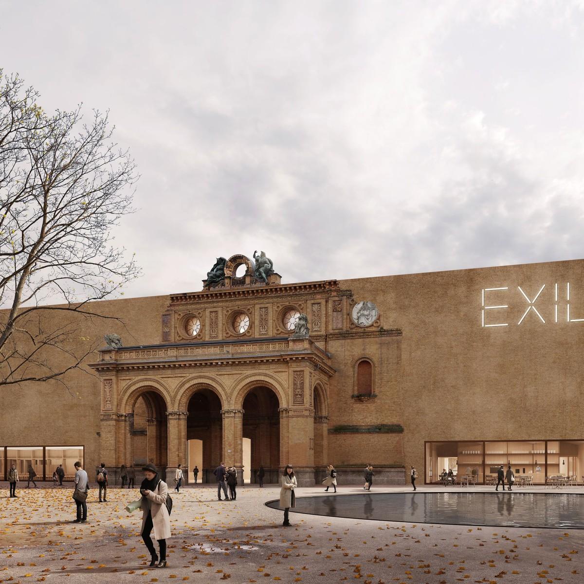 Bruno Fioretti Marquez . Exilmuseum . Berlin afasia (1)