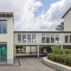 haller gut . Extension of the Hofmatt primary school. Gelterkinden afasia (1)