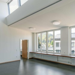 haller gut . Extension of the Hofmatt primary school. Gelterkinden afasia (13)
