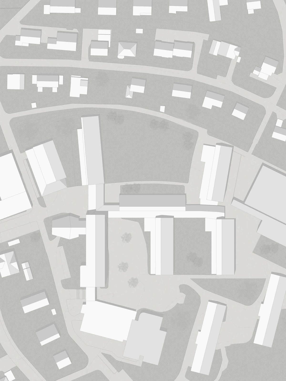 haller gut . Extension of the Hofmatt primary school. Gelterkinden afasia (21)