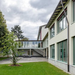 haller gut . Extension of the Hofmatt primary school. Gelterkinden afasia (3)