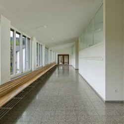 haller gut . Extension of the Hofmatt primary school. Gelterkinden afasia (8)