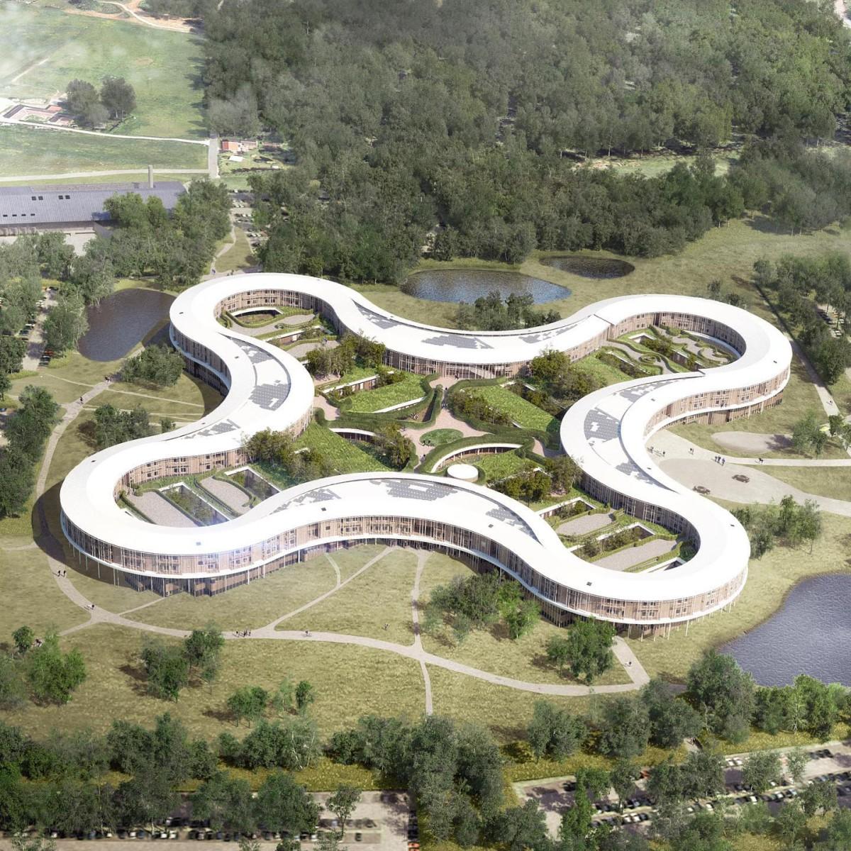 Herzog & de Meuron . New North Zealand Hospital . Hillerød afasia (3)