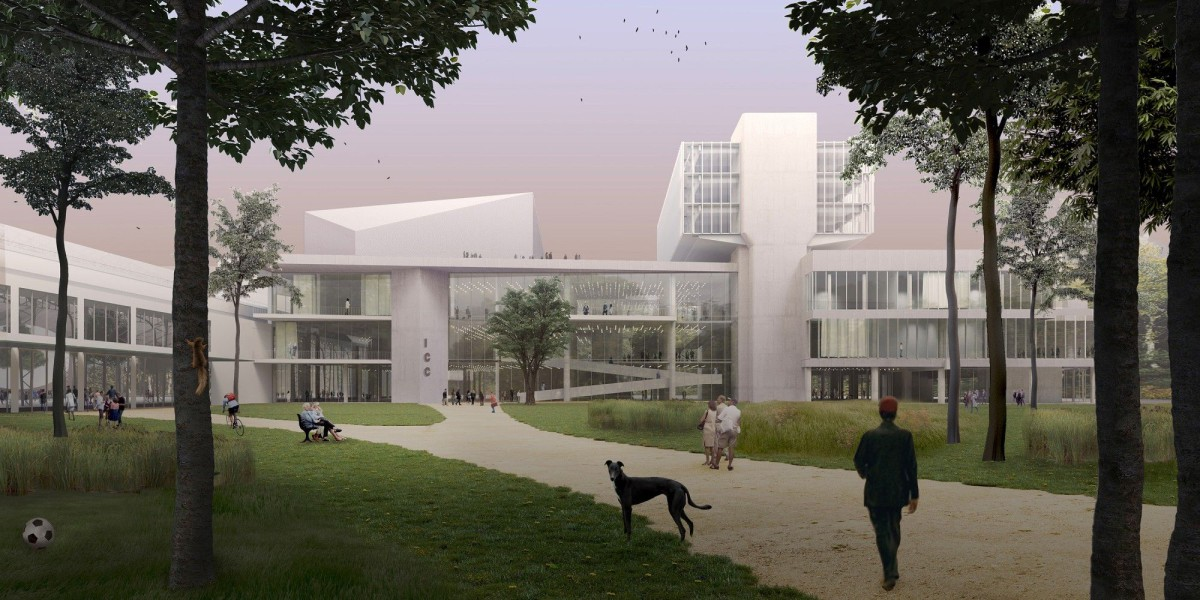51n4e . NUarchitectuuratelier . renovation of ICC and masterplan of the Floraliën hall . Ghent afasia (1)