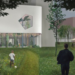 51n4e . NUarchitectuuratelier . renovation of ICC and masterplan of the Floraliën hall . Ghent afasia (2)