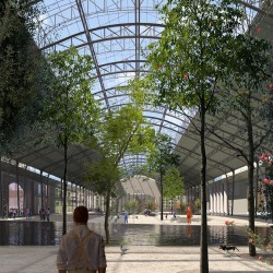 51n4e . NUarchitectuuratelier . renovation of ICC and masterplan of the Floraliën hall . Ghent afasia (3)
