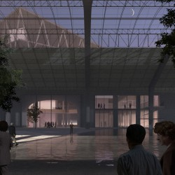 51n4e . NUarchitectuuratelier . renovation of ICC and masterplan of the Floraliën hall . Ghent afasia (4)