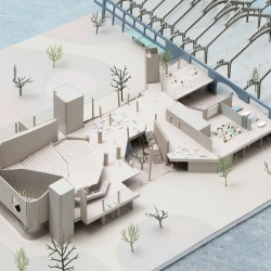 51n4e . NUarchitectuuratelier . renovation of ICC and masterplan of the Floraliën hall . Ghent afasia (6)