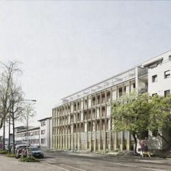 Kooperative E45 . HOCHBERGERSTRASSE 158 Housing . Basel afasia (1)