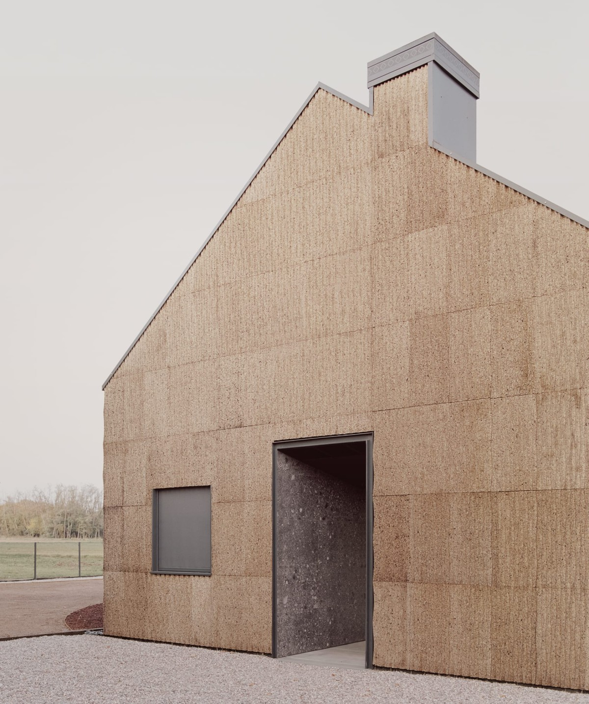 LCA architetti . Casa quattro  THE HOUSE OF WOOD, STRAW AND CORK . MAGNAGO Simone Bossi  afasia (1)