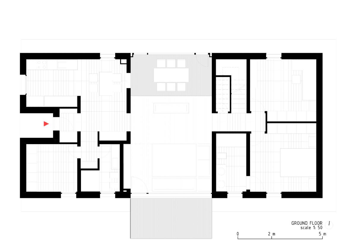 LCA architetti . Casa quattro  THE HOUSE OF WOOD, STRAW AND CORK . MAGNAGO Simone Bossi  afasia (23)