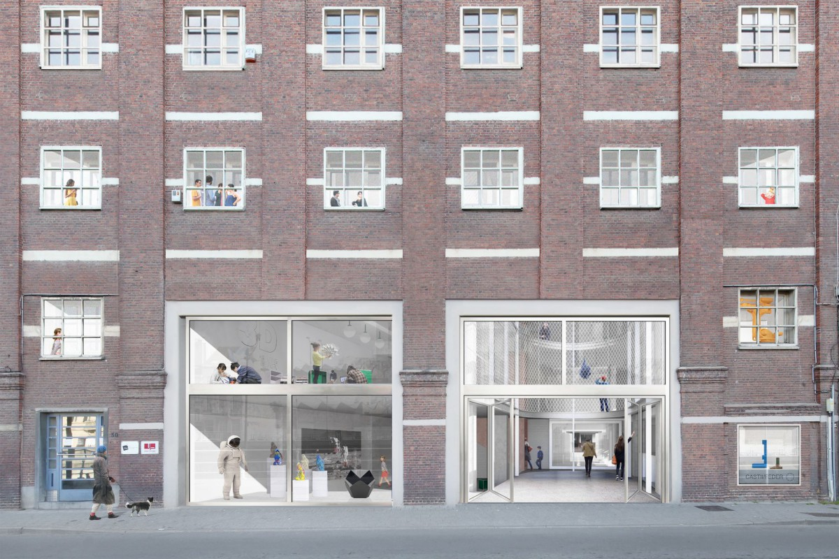 NP2F . CENTRAL office for architecture and urbanism . Brussels Maxime Delvaux  afasia (12)