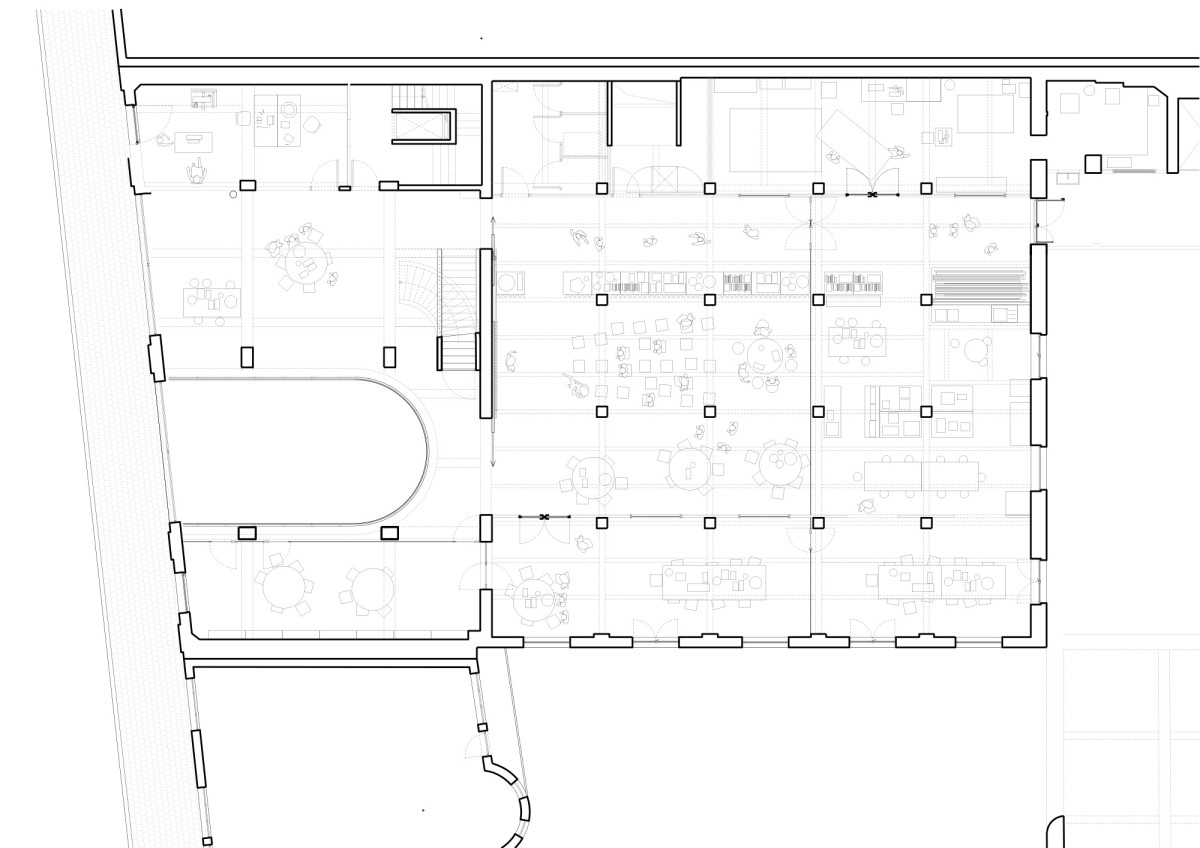 NP2F . CENTRAL office for architecture and urbanism . Brussels Maxime Delvaux  afasia (19)