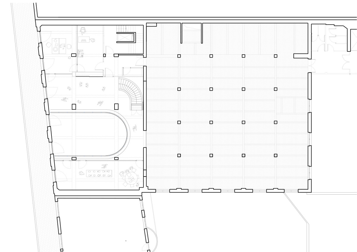 NP2F . CENTRAL office for architecture and urbanism . Brussels Maxime Delvaux  afasia (20)