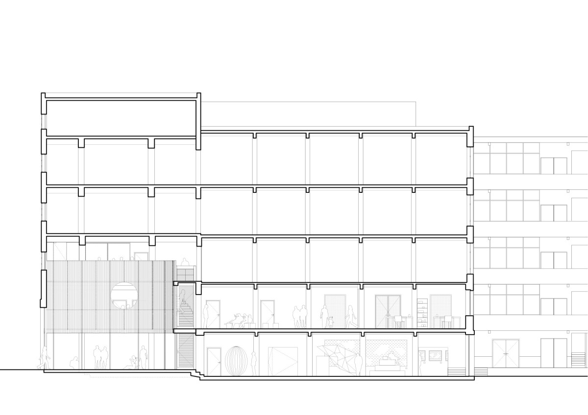 NP2F . CENTRAL office for architecture and urbanism . Brussels Maxime Delvaux  afasia (21)
