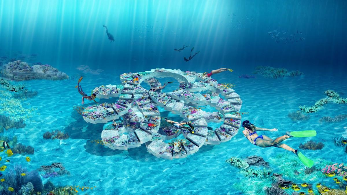 OMA . The ReefLine. Miami afasia (1)