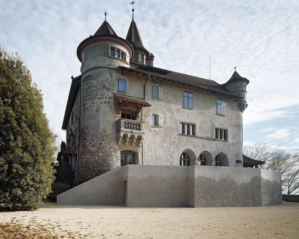 Diener & Diener . Castle St. Andreas Renovation and new terrace . Cham Christian Richters afasia (1)