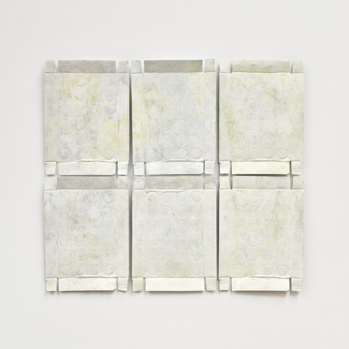 Untitled (Yellow Relief) . 2020–21