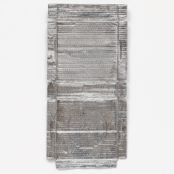 Untitled (Silver Relief) . 2020–21