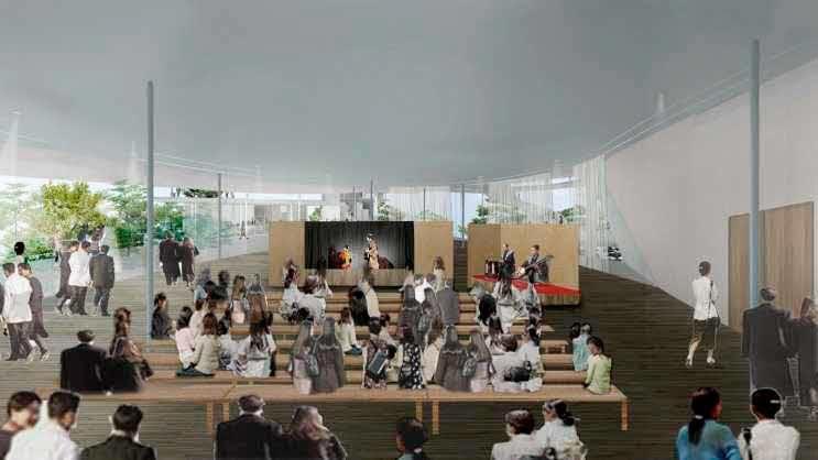 Junya Ishigami  Culture and Arts Hall . Tokushima afasia (10)