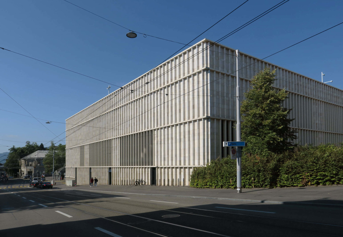 David Chipperfield . New Kunsthaus . Zurich Paul Clemence afasia (2)