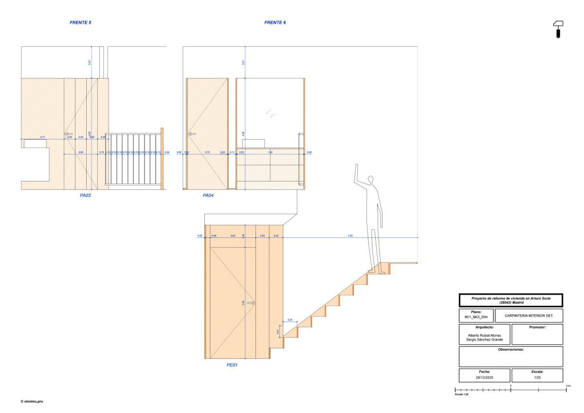MINIMO . M11 Apartment renovation .  Madrid Amores Pictures afasia (27)