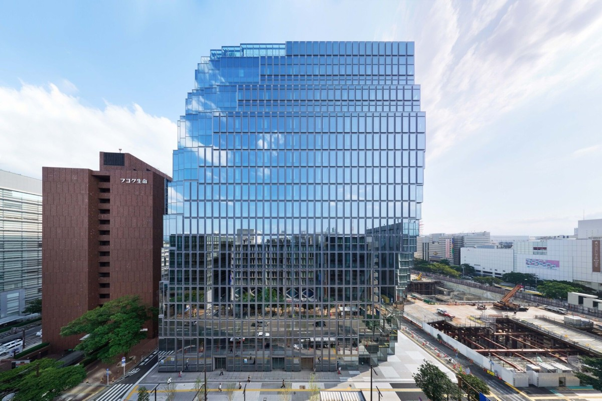 OMA . Tenjin Business Center . FUKUOKA Tomoyuki Kusunose afasia (4)